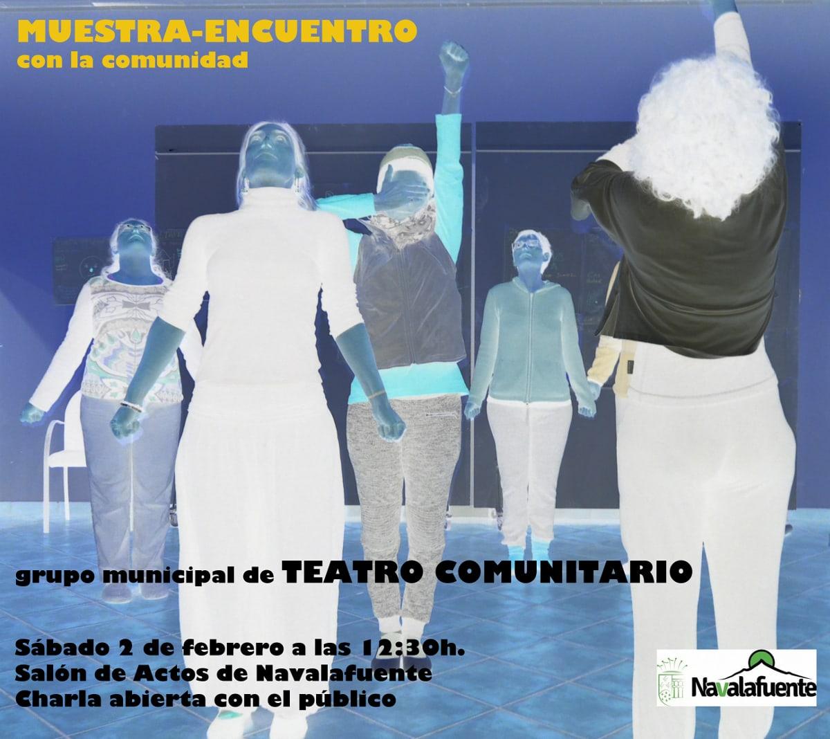 Muestra-Encuentro de Teatro Comunitario en Navalafuente